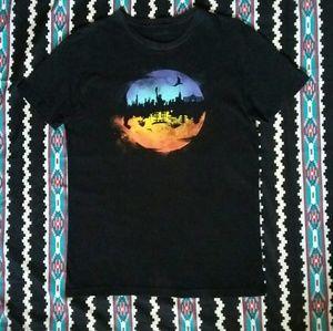 Against the Moon by Threadless T-Shirt